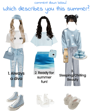 Miss Blue Sky (alt title: blue hues)
