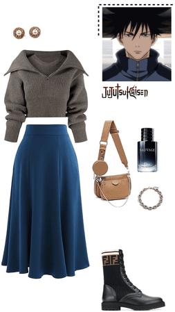 Megumi fushiguro inspired outfit
