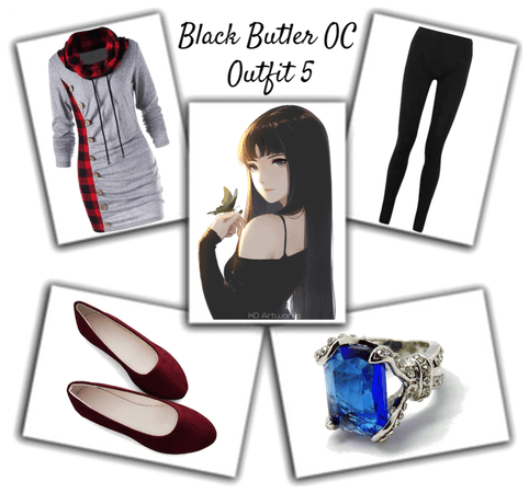 Black Butler OC Outfit 5