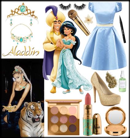 ariana grande as princess jasmine