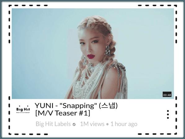 "Bubblicious (신기한) YUNI - ""Snapping"" Teaser #1"