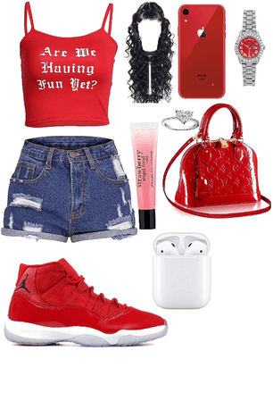 red day/cute fit