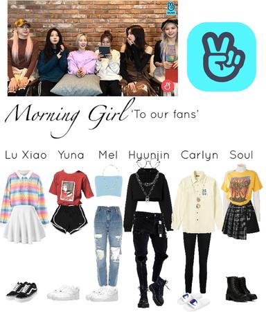 Morning Girl Vlive