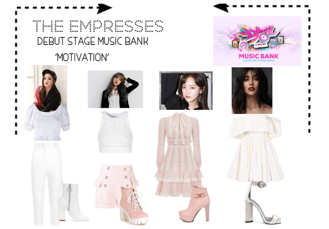[THE EMPRESSES] DEBUT STAGE- MUSIC BANK