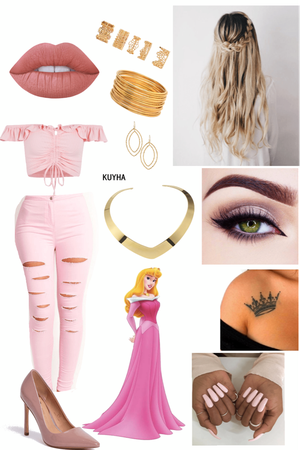 Aurora (Sleeping Beauty) Outfit