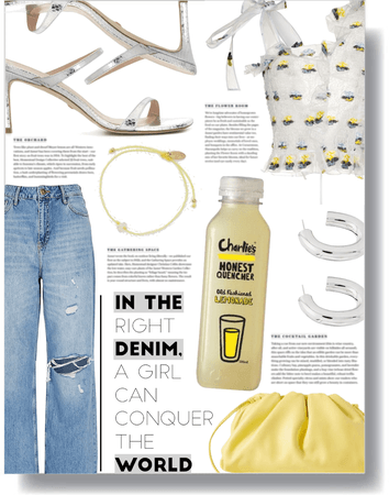 in the denim world 💛
