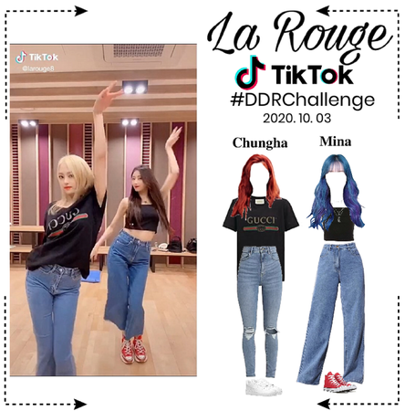 TikTok- La Rouge #DDRChallenge by BITTERSWEET (2020. 10. 03)