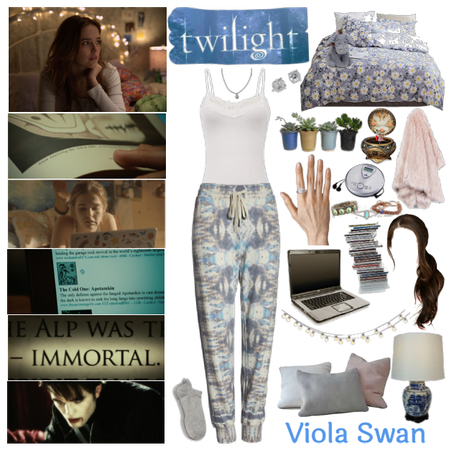 Viola Figures Out Edward's A Vampire | Twilight OC