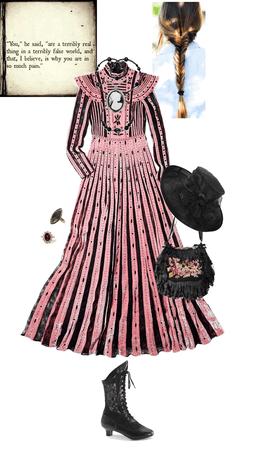half mourning dress (Marya)