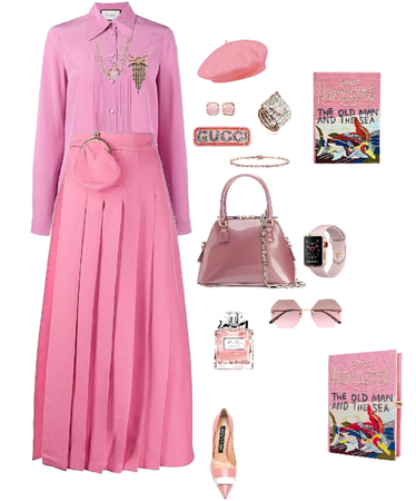 Just pink