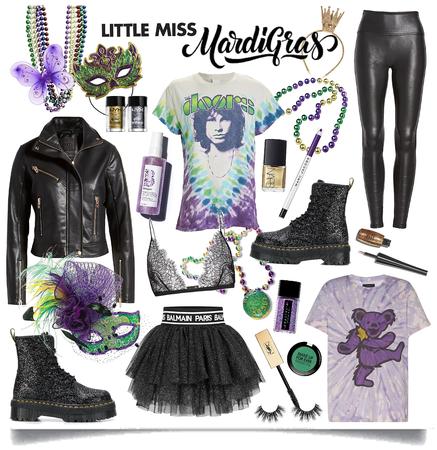 little miss Mardi Gras 🎷🎺🍻