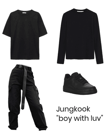 "Jungkook ""boy in luv"" inspired outfit/girl version"