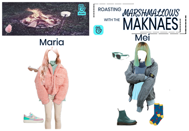 Marshmallow Roast with Candy Floss Maknaes VLive