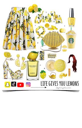 When life gives you lemons 🍋