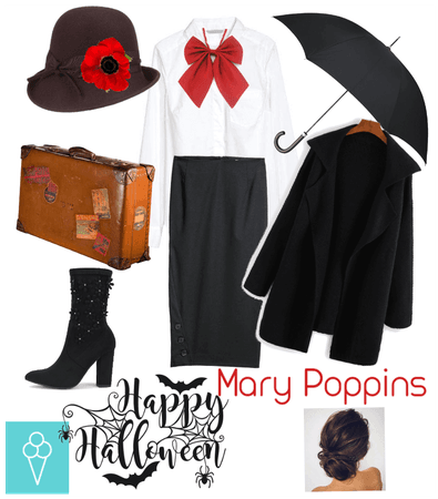 # Halloween costume # Shoplook # Mary Poppins