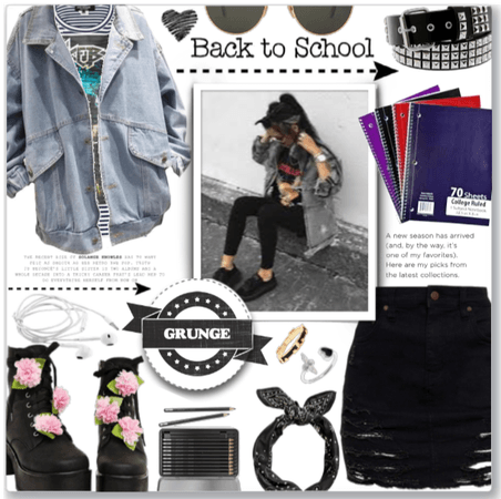 Grunge Back to School