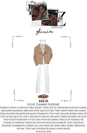 6IX-D [씩스띠] (ZHIXIN) vLive App 200814