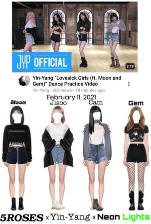 "Yin-Yang ""Lovesick Girls (ft. Moon & Gem)"" Dance Practice Video"