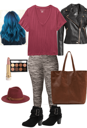 plus size Kate moss vibe outfit