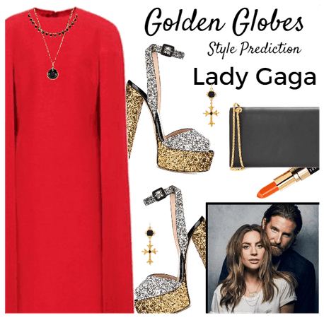 Golden Globes Style Prediction: Lady Gaga