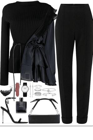 elegance,formal, chic look