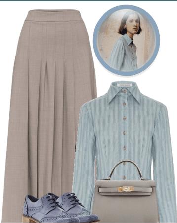 THE BLUE SHIRT- ANNA QUAN