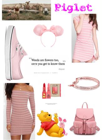 Piglet: A Disney Parks Outfit