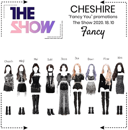 """Cheshire [체셔]_ The Show """"Fancy"""" 2020. 18. 10"""