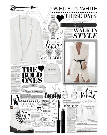 bold white 🖤