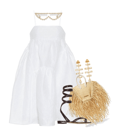 white dress: a summer state of mind