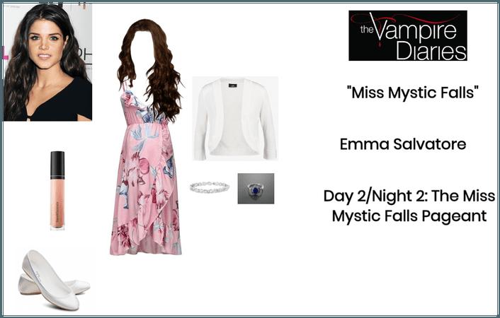 """TVD: """"Miss Mystic Falls"""" - Emma Salvatore"""