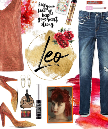 A look for leos