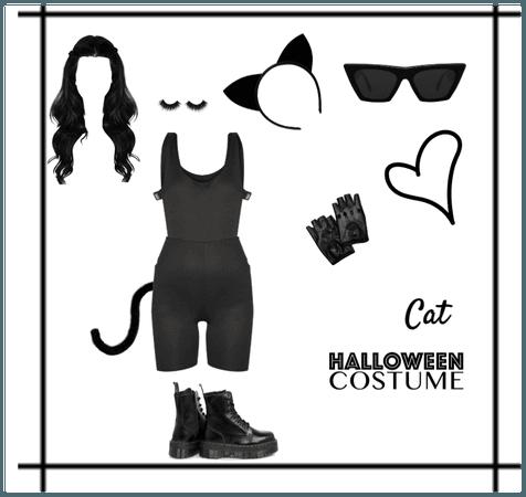 Cat Halloween look