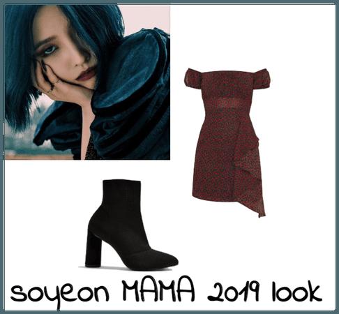 Soyeon MAMA look