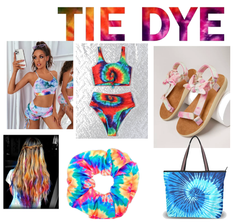 Tie Dye is for Your Beach