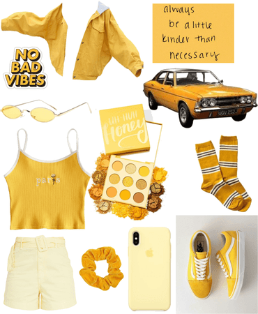 And she was all Yellow: Like the sun