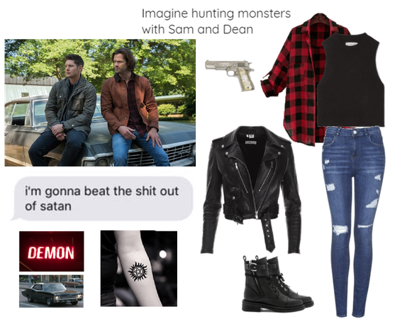 Imagine hunting with Sam and Dean