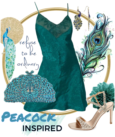 Peacock inspired 🦚