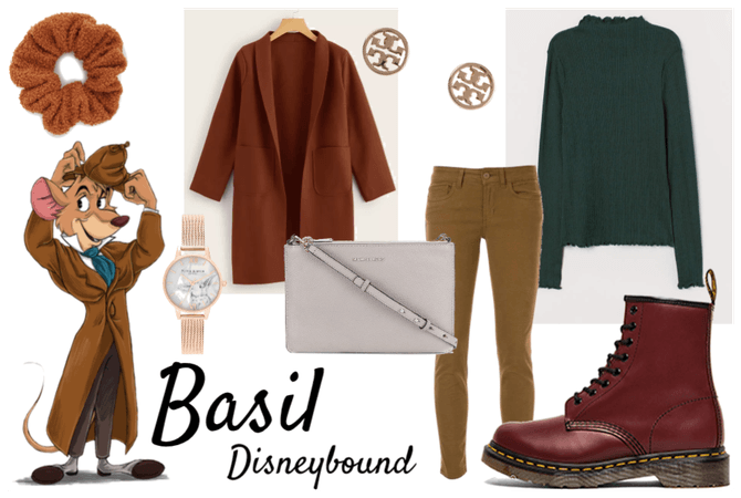 Basil Great Mouse Detective Disneybound