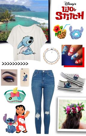 Lilo and stitch 🦋🏝🥥