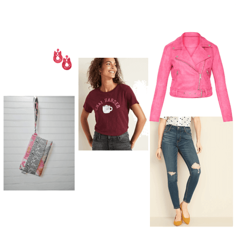 Weekend Casual in Pink