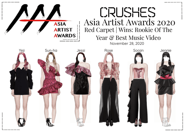 Crushes Asia Artist Awards 2020 Red Carpet + Win