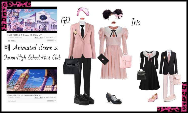 배 (Bae) Iris ft GDragon Animated Scene 2