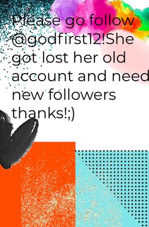 Go follow @godfirst12