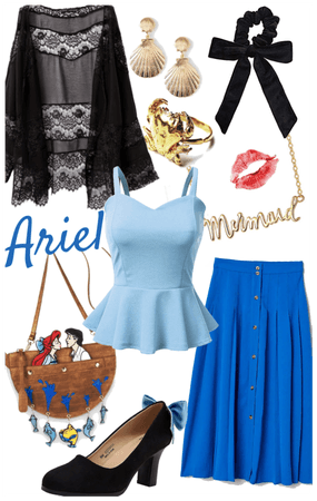 "Ariel (""Kiss the Girl"" Dress)"
