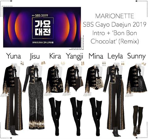 MARIONETTE (마리오네트) SBS Gayo Daejun 2019 | Performance