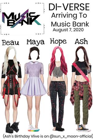 DI-VERSE Arriving at Music Bank