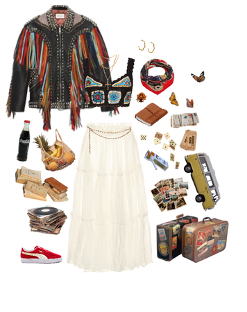 how many 70s boho staples can i fit in one look