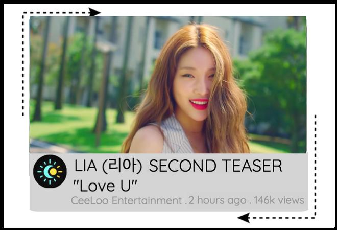 "LIA ""Love U"" SECOND TEASER"