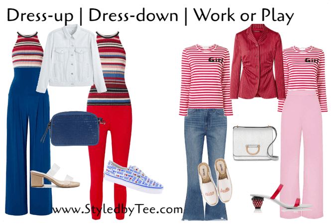 Dress-up Dress-down Work or play